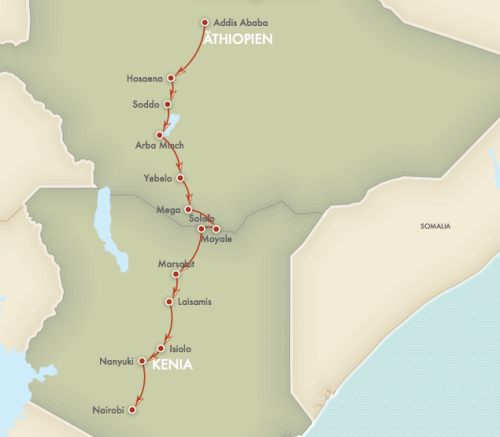 Addis Ababa - Nairobi