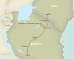 Sektion 4: Masai Steppe (1218km)