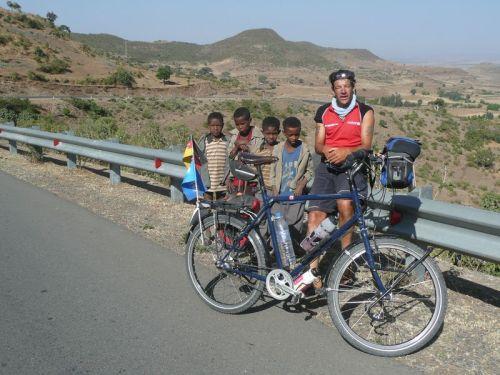 Hardy zwischen Gondar und Bahir Dar 2010