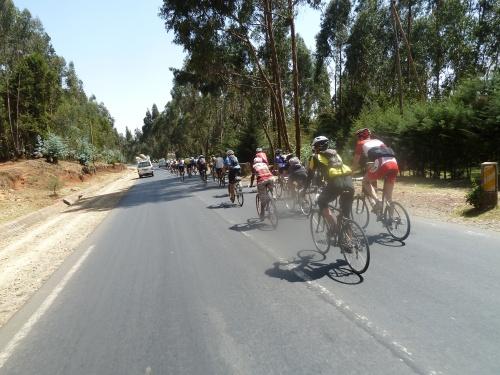 "Convoy ""hinunter"" nach Addis Ababa"