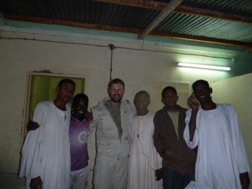 Studenten in Dongola