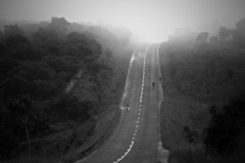 TdA - freie Straße in Malawi