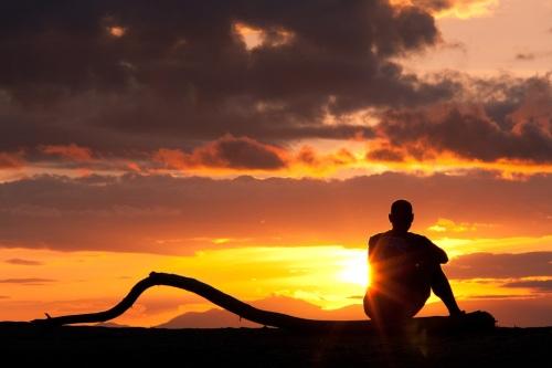 Sonnenaufgang am Malawisee