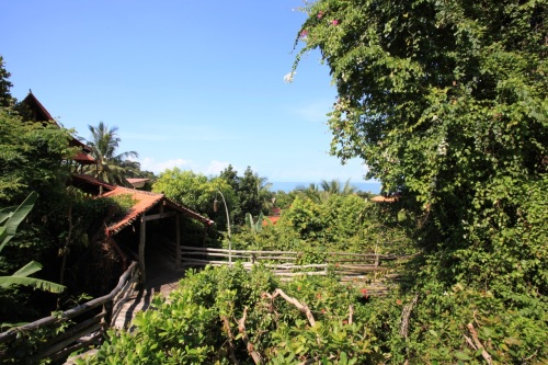 view from Veranda Resort, Kep