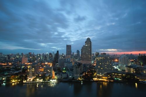 Bangkok from 27th floor