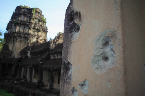 Khmer Rouge left some traces