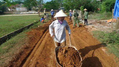 Road Construction Vietnam