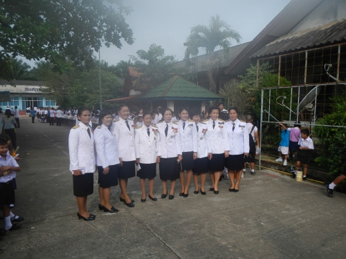 Teachers in uniform